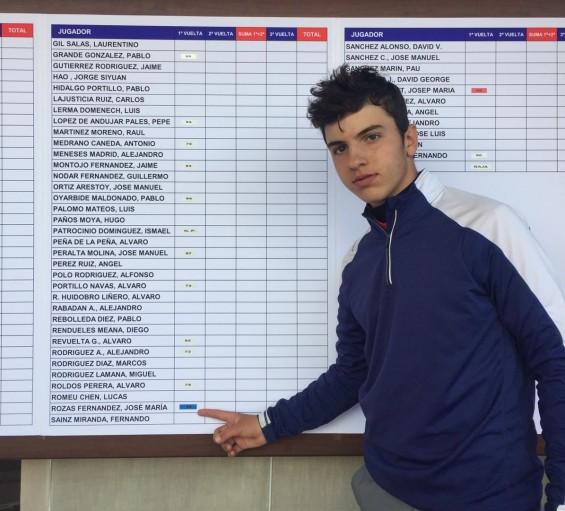 Puntuable Nacional Cadete 01 2019 - José María Rozas