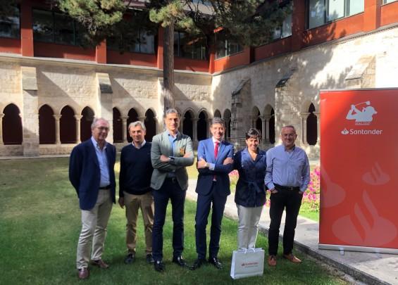 Santander Golf Tour Lerma - presentación 2019