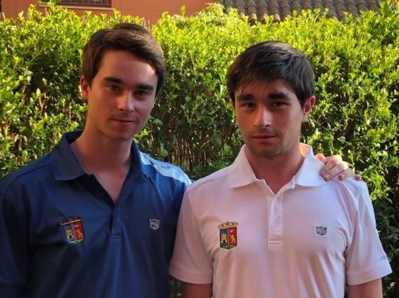 Álvaro y Alfonso Morales