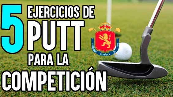 2020 Cinco ejercicios de putt para la competición - Sergio de Céspedes